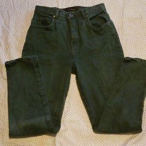 Gloria Vanderbilt Stretch green jeans